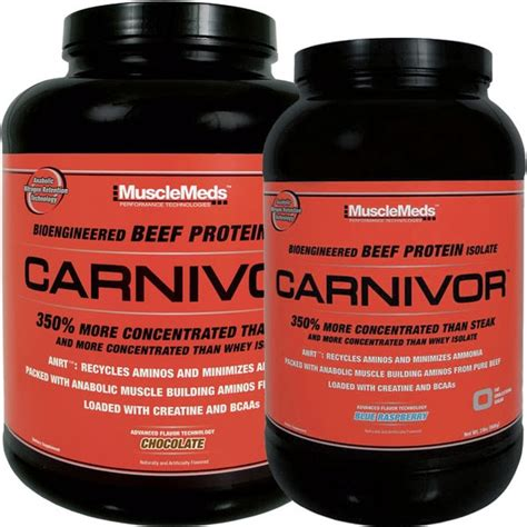 Carnivor Isolate Musclemeds 4 6 Lbs carnivor beef protein isolate 4 6 lbs supplement fitness