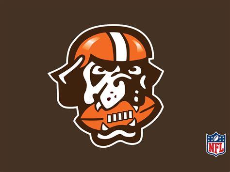 Cleveland Browns L by Nfl Cleveland Browns Logo On Brown Background 1600x1200 Desktop Nfl Cleveland Browns