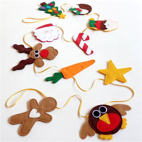 Felt Handmade - handmade felt and ribbon bunting by be
