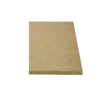 mdf home depot 1 in x 49 in x 8 1 12 ft mdf board 124924 the home depot