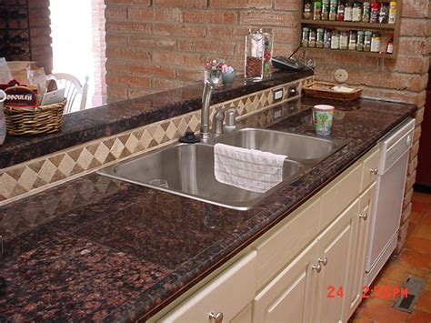 Granite Tile Kitchen Countertops Granite Tile Countertops Best Kitchen Places