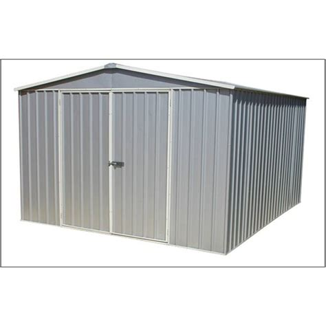 Metal Shed 10 X 10 by 9 10 Quot X 12 Premier Zinc Metal Shed