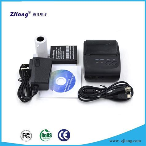 Mini Portable Bluetooth Thermal Receipt Printer Zj 58041217 Limited handy pos 58mm mini portable bluetooth moible thermal