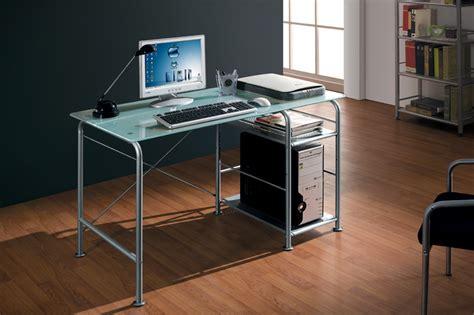 tavoli da computer scrivania tavolo porta pc computer ripiano in vetro ebay