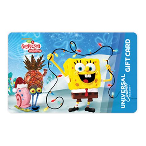 universal gifts for christmas your wdw store universal collectible gift card spongebob spongebob gary