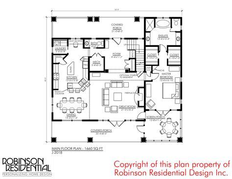craftsman floor plans 2018 craftsman j 2018 robinson plans