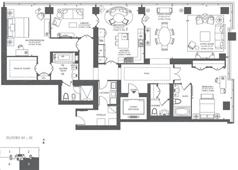 Ritz Carlton Floor Plans | floor plans for residences at the ritz carlton