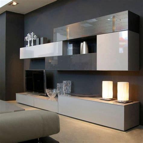 mueble salon minimalista mueble de dise 241 o minimalista que combina grises sal 243 n