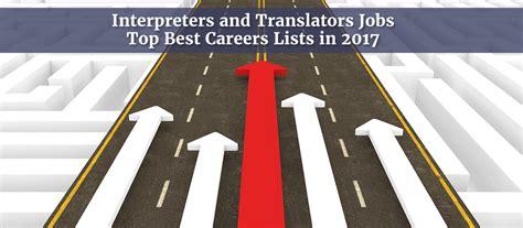 best translators interpreters and translators top best careers lists