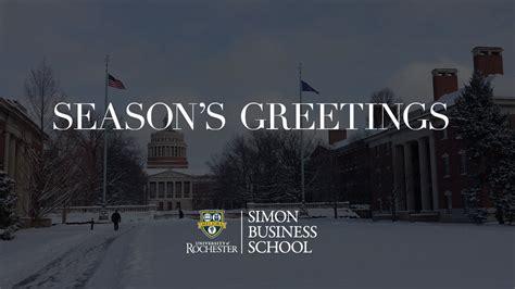 Simon Rochester Mba Review by 2016 Simon Business School Card