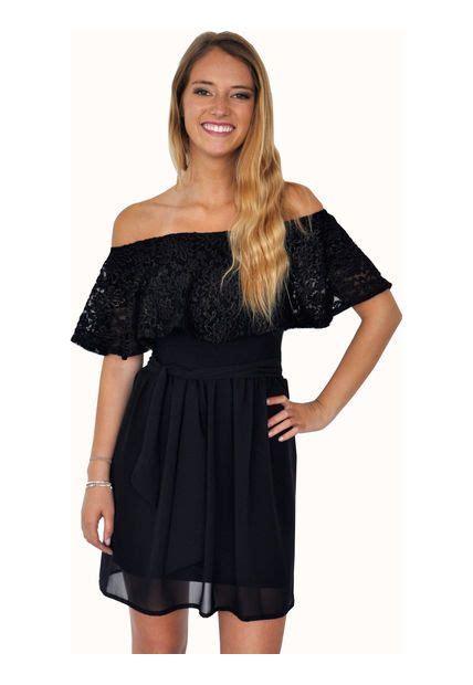 vestidos cortos con vuelo vestido negro corto con vuelo