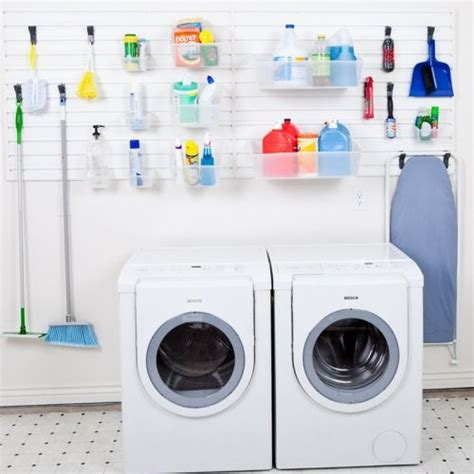 Laundry Room Storage Systems Flow Wall Laundry And Utility Room Storage System Contemporary Storage And Organization By