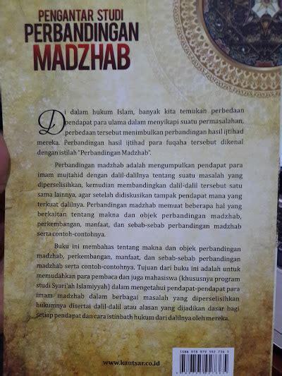 Diskon Pengantar Studi Ilmu Al Qur An Cover buku pengantar studi perbandingan madzhab toko muslim title