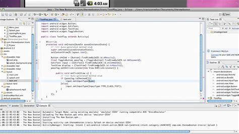 tutorial android application development pdf android application development tutorial 27 set the