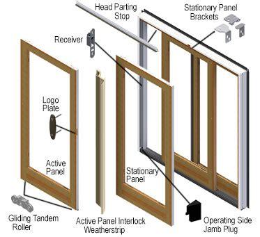 andersen windows sliding door replacement parts frenchwood gliding patio door parts andersen windows doors
