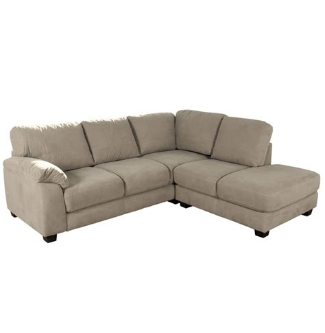 Microfiber Sectional Sofa Bryce Sectional Sofa Microfiber L Shaped Sectional Contempo Space