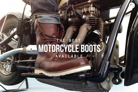 best motorcycle boots for riders on the the 6 best motorcycle boots