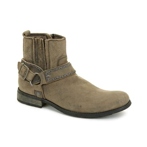 bedstu mens boots bed stu bed stu innovator boots in beige for black