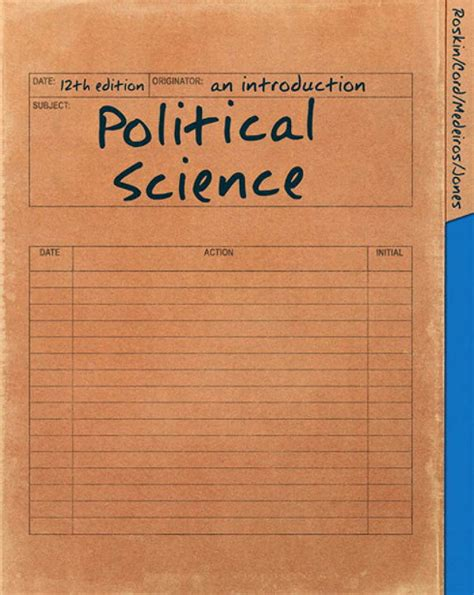 Political Science An Introduction by Political Science An Introduction 12th Edition B By Eric