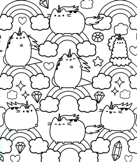 printable coloring pages pusheen pusheen coloring book pusheen pusheen the cat board