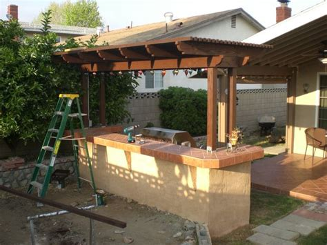 Prefabricated Outdoor Kitchen Islands by Build A Backyard Barbecue