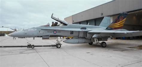 Canada?s CF 18 Hornet Demonstration Team Unveils Special