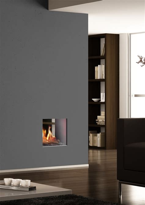 portofino sided fireplace insert by italkero