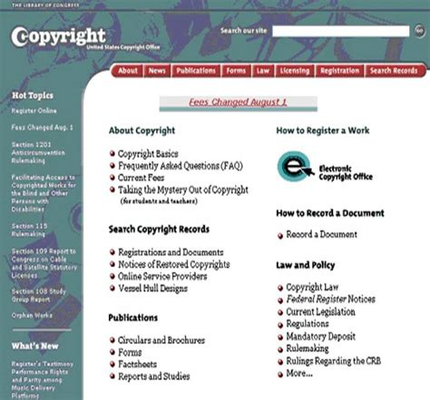electronic copyright office http www copyright gov eco