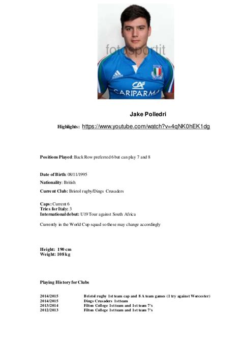 Education On A Resume Examples by Rugby Cv