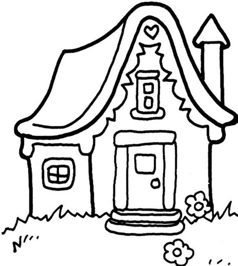 coloring pages house free printable snowflake coloring pages for kids