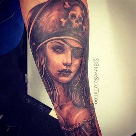 pirate girl tattoo 17 best images about ideas on