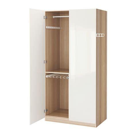 Lemari Di Ikea pax lemari pakaian engsel soft closing 100x60x201 cm ikea