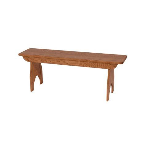 solid bench solid top bench amish crafted furniture