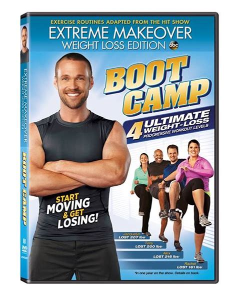weight loss dvd makeover weight loss edition bootc dvd review