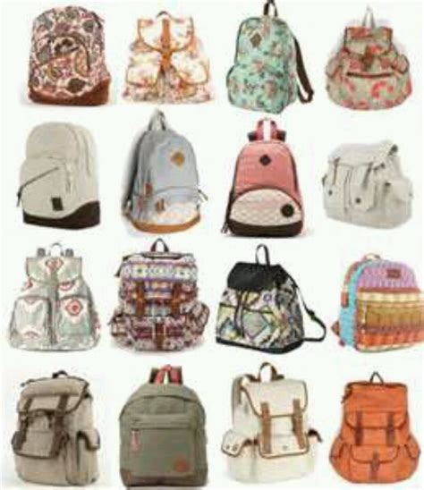 different kinds of backpacks pin by kortrey on all kinds of accessories i need
