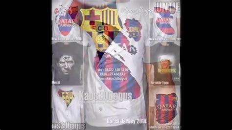 Kaos Bola Barcelona kaos 3d barcelona kaos barca fans indonesia