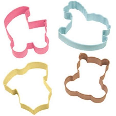 Baby Shower Cookie Cutter by Wilton Baby Shower Cookie Cutter Set Baby Cookie Cutters