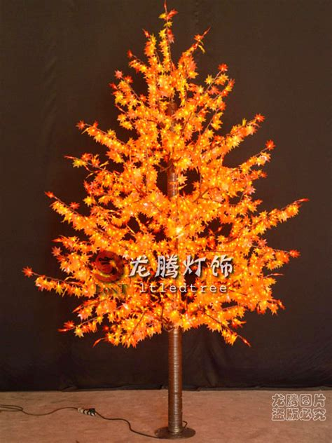yellow tree lights led maple tree yellow leaf outdoor led tree