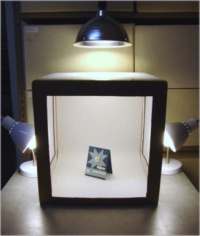 Handmade Light Box - how to take better photos stin up