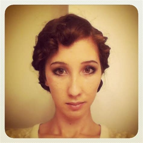 20s hair style tutorial the couture courtesan a quick and dirty 20s hair tutorial