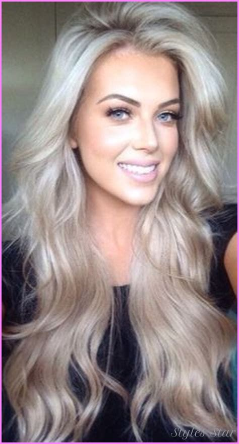 beautiful brunette hair with platinum highlights pictures hot trebd 2015 platinum highlights on blonde hair stylesstar com