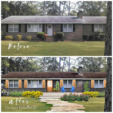 before and after home makeover the house enthusiast before and after house makeovers