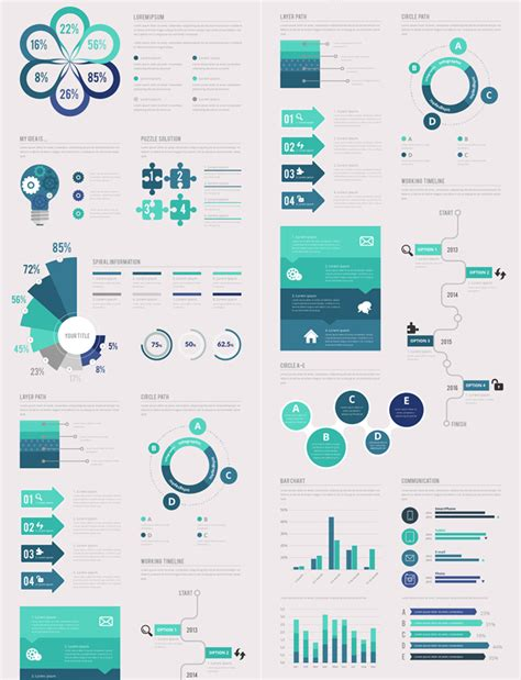 template infographic 10 detailed infographic templates for every type of business