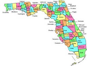 map of florida by county useful maps explaining florida s judicial system