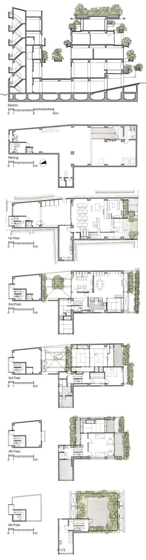 Craftsman Home Interiors Plan Of Rokko Housing House Design Plans