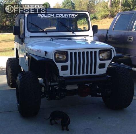 1990 Jeep Wrangler Accessories Wheel Offset 1990 Jeep Wrangler Hella Stance 5 Suspension