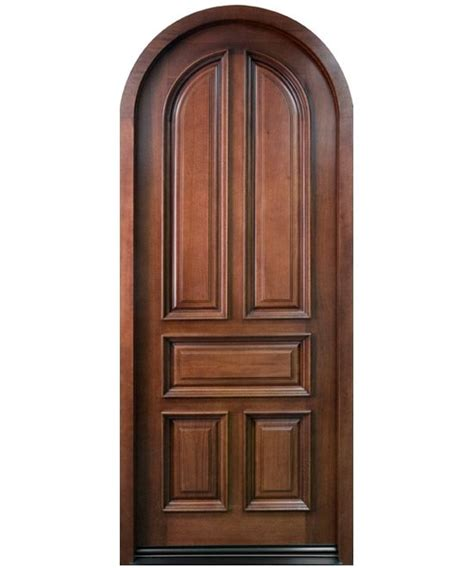 Arched Top Interior Doors - rustic wood interior door with arched top