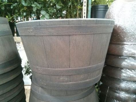 Costco Whiskey Barrel Planter planters