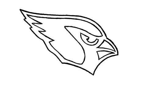 How To Draw The Cardinals Logo how to draw the arizona cardinals logo nfl