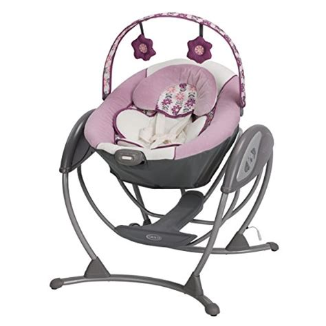 graco minnie mouse swing baby swings bouncers girls shopswell